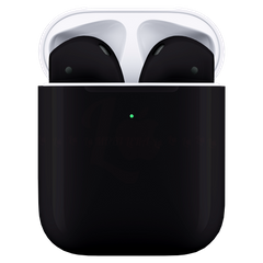 Навушники Apple AirPods 2 Black with Wireless Charging Case
