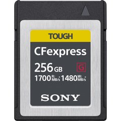 Карта пам'яті Sony CFexpress Type B 256GB R1700/W1480 (CEBG256.SYM)