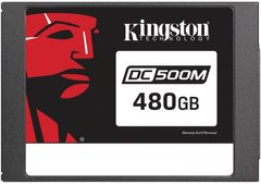 "Накопичувач Kingston DC500M 480GB 2.5"" SATAIII 3D TLC (SEDC500M/480G)"