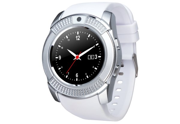 Смарт-годинник ATRIX Smart Watch B2 IPS Metal-White d537df391fccb