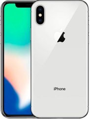 Смартфон Apple iPhone X 256Gb A1865 Silver (EuroMobi)