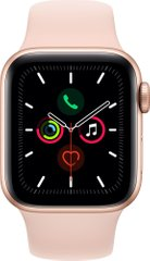 Смарт-годинник Apple Watch Series 5 GPS 40mm Gold Aluminium Case with Pink Sand Sport Band (MWV72UL/A)