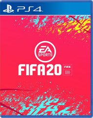 Ігра Games Software FIFA20 [PS4, Russian version]