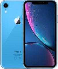 Смартфон Apple iPhone XR DS 64Gb A2108 Blue (MRYA2) (EuroMobi)