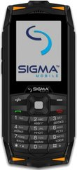 Мобільний телефон Sigma mobile X-treme DR68 Black-Orange