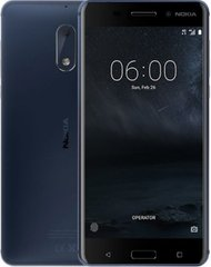 Смартфон Nokia 6 DS Tempered Blue