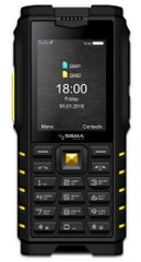 Телефон-рація Sigma mobile X-TREME DZ68 Black-Yellow
