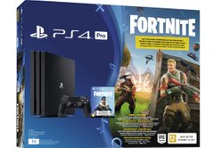 Ігрова консоль Sony PS4 Pro 1Tb Black (Fortnite)