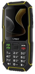 Мобільний телефон Sigma mobile X-treme ST68 Black-Yellow