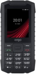 Телефон Ergo F245 Strength Dual Sim Black