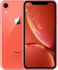 Смартфон Apple iPhone XR 64Gb Dual Sim Coral (EuroMobi)