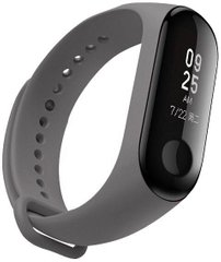 Ремінець ArmorStandart для Xiaomi Mi Band 4/3 Dark grey
