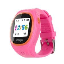 Дитячий смарт годинник ERGO GPS Tracker Junior Color J010 Pink (GPSK010P) b689229465593